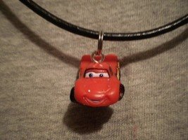 Disney Cars Ethan Figure Charm Cute Necklace Kawaii Novelty Cartoon Jewelry - $7.83