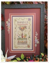 Thankful Be Kit autumn fall cross stitch kit Shepherd's Bush     - $70.00