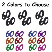 Confetti Number 60 - 2 Colors to Choose - $1.81 per 1/2 oz. FREE SHIP - $3.95+