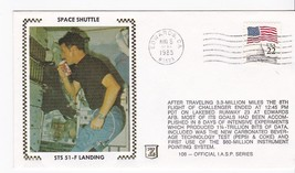 STS 51-F LANDING KENNEDY SPACE CENTER FL AUG 6 1985 IASP SERIES #108 Z S... - $1.98