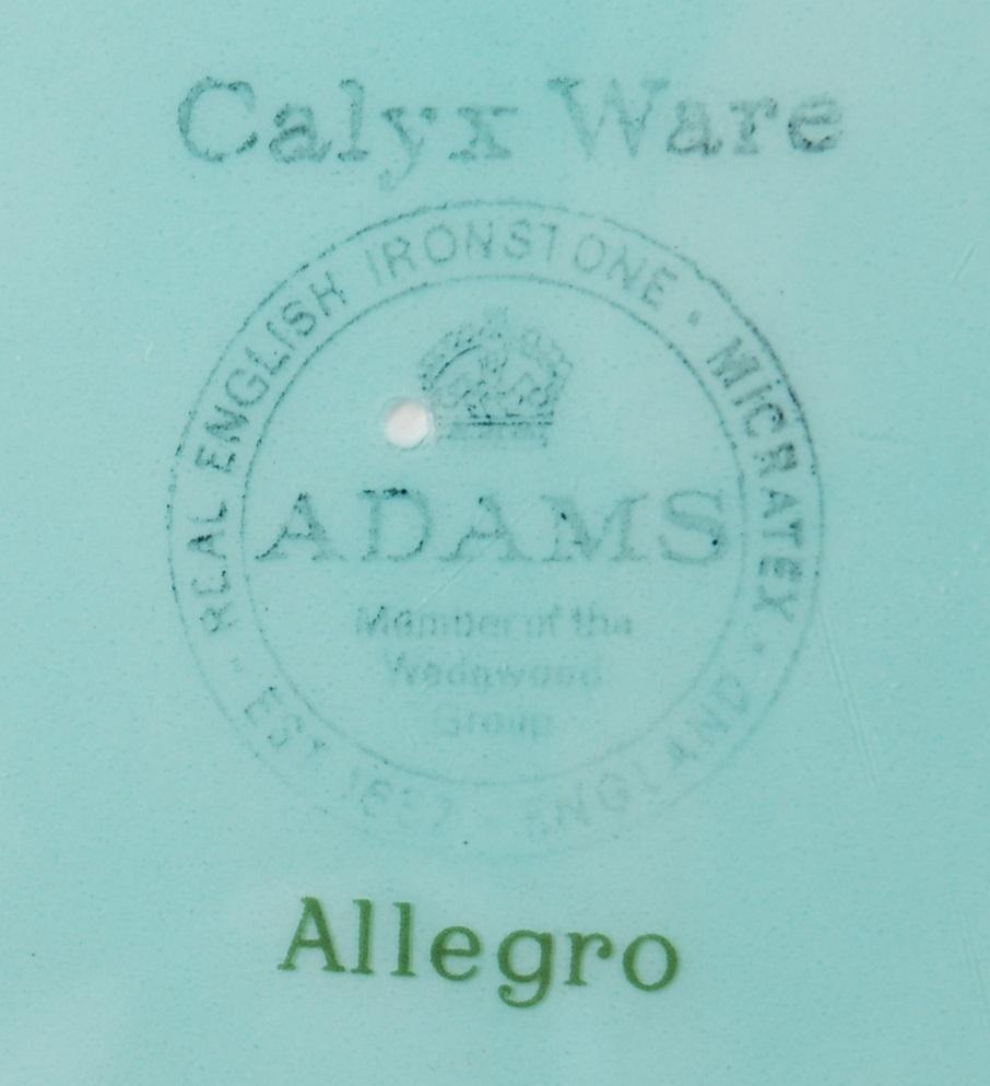 Adams Allegro Calyx Ware Bread Plate English And 50 Similar Items