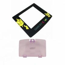 New ATOMIC PURPLE Game Boy Color Battery Cover + Pokemon Pikachu Screen GBC - $7.22