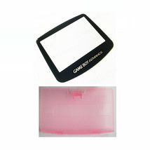 New PINK Game Boy Advance Battery Cover + GLASS Screen Lens GBA Replacement - $6.88