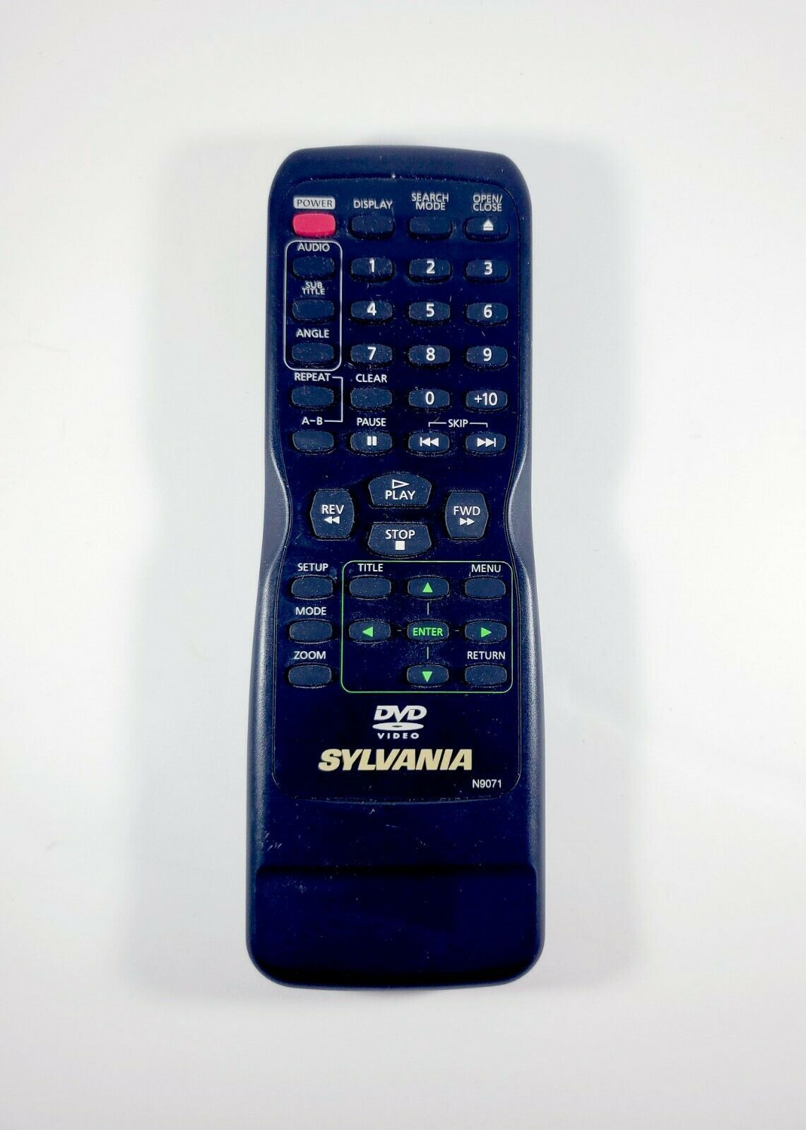 Primary image for Genuine Sylvania N9150 N9071 DVD Remote Subs Magnavox NB691UD MDV2300 MDV2300