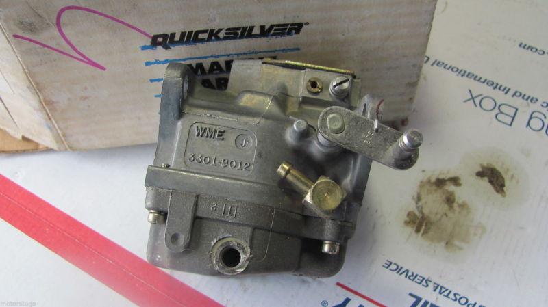 Mercury 90 hp. Carburetor NOS Quicksilver 3301-9012A18, WME 3301-9012, 4-3 1527 - $125.00