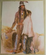 Print 8 x 10 Native American Indian with Tatoos D - $14.00