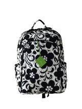 Vera Bradley Laptop Backpack In Night & Day with Black Interior - NWT - $87.95