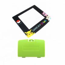 New KIWI GREEN Game Boy Color Battery Cover + Pokemon Jigglypuff Screen GBC - $7.22