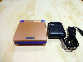 Nintendo Game Boy Advance GBA SP System AGS 101 Brighter Copper + Blue M... - $108.85