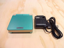 Nintendo Game Boy Advance GBA SP System AGS 001 Green + Gold MINT NEW - $88.78