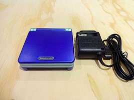 Nintendo Game Boy Advance GBA SP System AGS 101 Brighter Blue MINT NEW - $108.85