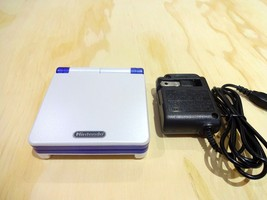 Nintendo Game Boy Advance Gba Sp System Ags 101 White + Blue Mint New - $147.97