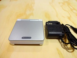Nintendo Game Boy Advance GBA SP System AGS 001 Silver + White MINT NEW - $72.71