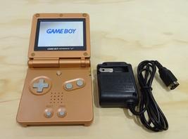 Nintendo Game Boy Advance GBA SP Copper Orange System AGS 101 Brighter M... - $114.29