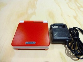 Nintendo Game Boy Advance GBA SP System AGS 101 Red + White MINT NEW - $108.85