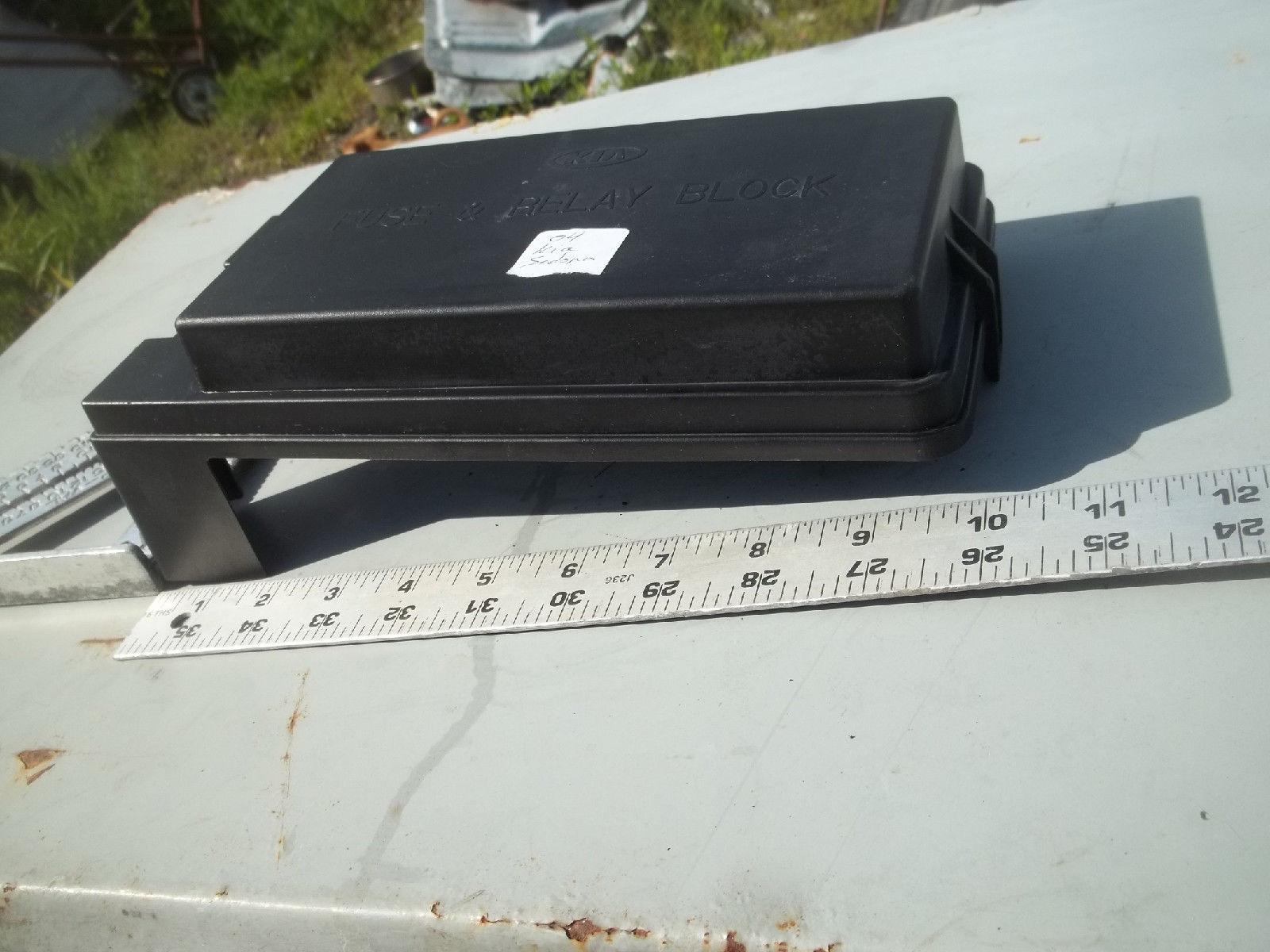 Kium Sedona Fuse Box