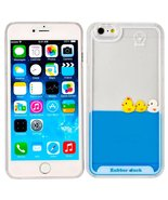 iphone 7 Liquid Case,Creative Design Lovely Liquid Floating Rubber Duck ... - $8.47