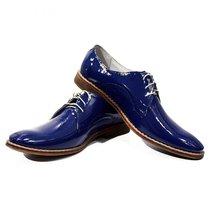 Modello Piemont - 41 EU - Handmade Colorful Italian Leather Oxfords Unique La... - $149.00
