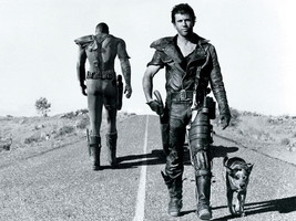 Mad Max Vault Dweller Fallout Mel Gibson BW Act... - $13.95