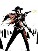 Clint Eastwood Guns Spaghetti Western Art Legendary Actor 32x24 POSTER - $13.95
