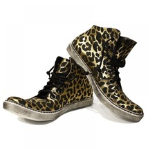 Lampart Funky Casual Sneakers - 44 EU - Handmade Colorful Italian Leather Oxf... - $202.49 CAD