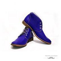 Modello Bresica - 42 EU - Handmade Colorful Italian Leather Unique High Boots... - $149.00