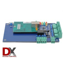 1 Door Access Control Panel Board w/ Power Supply Box Ethernet TCP/IP Do... - $155.60