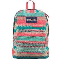 JanSport Superbreak Student Backpack - Multi Tan Boho Stripe - $37.99