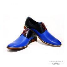 Modello Sassuolo - 41 EU - Handmade Colorful Italian Leather Oxfords Unique L... - $149.00