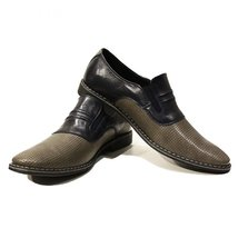 Modello Ladislao - 41 EU - Handmade Colorful Italian Leather Oxfords Unique L... - $149.00