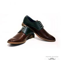 Modello Roma - 45 EU - Handmade Colorful Italian Leather Oxfords Unique ... - $149.00