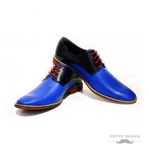 Modello Sassuolo - 45 EU - Handmade Colorful Italian Leather Oxfords Uni... - $149.00