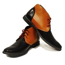 Modello Ilario - 41 EU - Handmade Colorful Italian Leather Unique Men's ... - $149.00