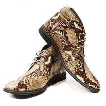 Modello Abdone - 42 EU - Handmade Colorful Italian Leather Unique Men's Shoes - $149.00