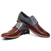 Modello Soprano - 40 EU - Handmade Colorful Italian Leather Oxfords Unique La... - $149.00