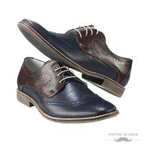Modello Sassari - 40 EU - Handmade Colorful Italian Leather Oxfords Unique La... - $202.49 CAD