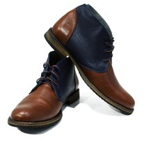 Modello Caivano - 41 EU - Handmade Colorful Italian Leather Unique High Boots... - $149.00