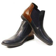 Modello Gilberto - 45 EU - Handmade Colorful Italian Leather Unique Men's Shoes - $149.00