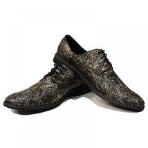 Snake Elegant Men's Shoes - 43 EU - Handmade Colorful Italian Leather Oxfords... - $149.00