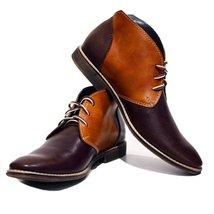 Modello Nuoro - 45 EU - Handmade Colorful Italian Leather Unique High Boots L... - $149.00