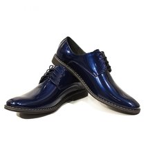 Modello Crepuscolo - 43 EU - Handmade Colorful Italian Leather Oxfords Unique... - $149.00
