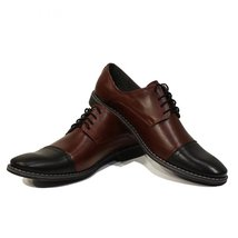 Modello Giobbe - 45 EU - Handmade Colorful Italian Leather Oxfords Unique Lac... - $149.00