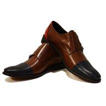 Modello Tiziano - 43 EU - Handmade Colorful Italian Leather Oxfords Unique La... - $149.00
