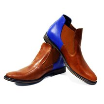 Modello Ceglie Messapica - 43 EU - Handmade Colorful Italian Leather Unique A... - $149.00