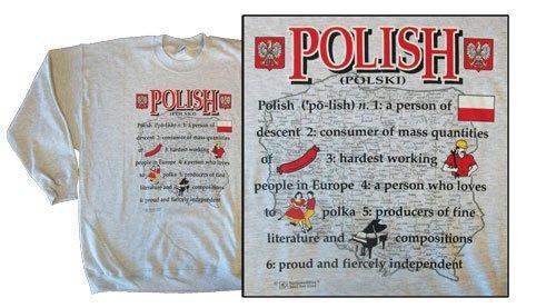 Poland national definition sweatshirt 10252