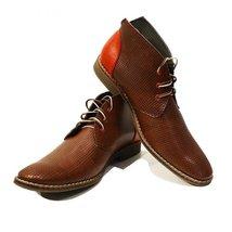 Modello Ireneo - 42 EU - Handmade Colorful Italian Leather Unique High Boots ... - $149.00