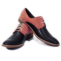 Modello Ragusa - 44 EU - Handmade Colorful Italian Leather Oxfords Unique Lac... - $149.00