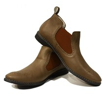 Modello Ottaviano - 43 EU - Handmade Colorful Italian Leather Unique Men's Shoes - $149.00