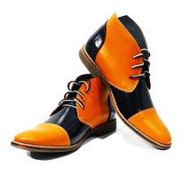 Modello Alatri - 43 EU - Handmade Colorful Italian Leather Unique High Boots ... - $149.00
