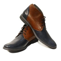 Modello Marcello - 42 EU - Handmade Colorful Italian Leather Unique Men's Shoes - $149.00